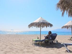 Clau beach ook mooi (Medium)