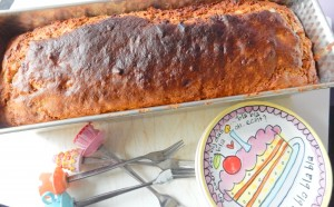 Cake net uit oven