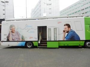 Zilverlijnbus
