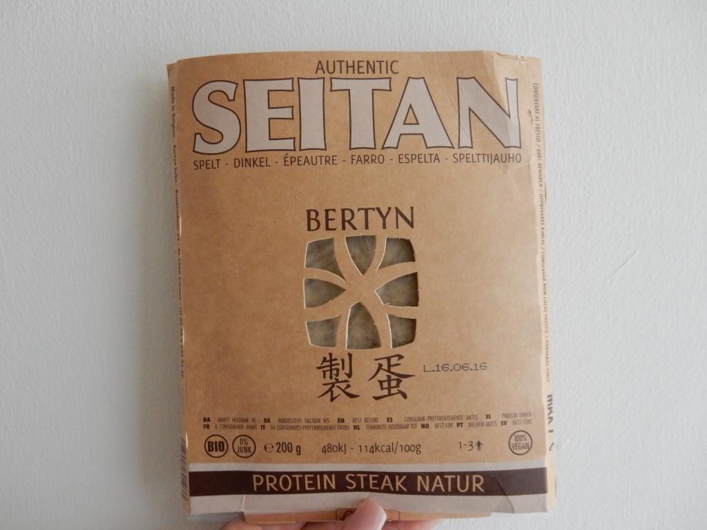 recept Bertyn Seitan verpakking